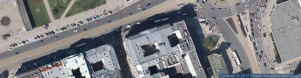 Zdjęcie satelitarne Aleje Jerozolimskie 45