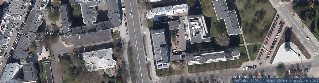 Zdjęcie satelitarne Aleje Ujazdowskie 8