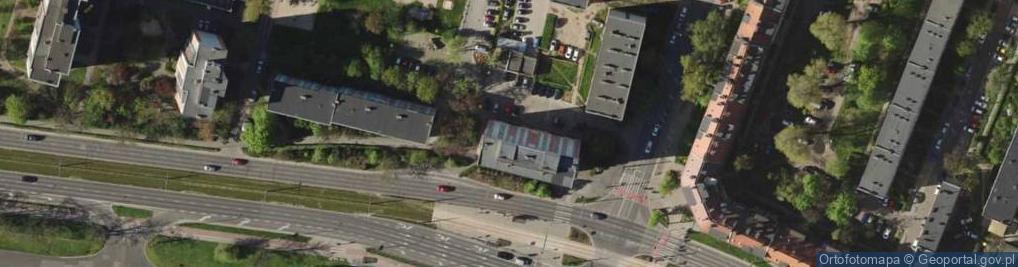 Zdjęcie satelitarne Aleja Hallera Józefa, gen. 67