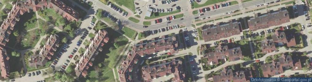 Zdjęcie satelitarne Ametystowa 18