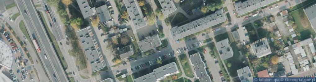 Zdjęcie satelitarne Andersena Jana Christiana ul.