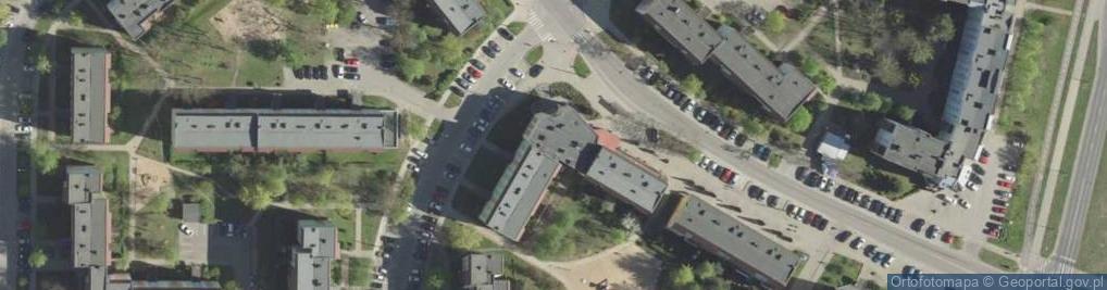 Zdjęcie satelitarne Armii Krajowej 7