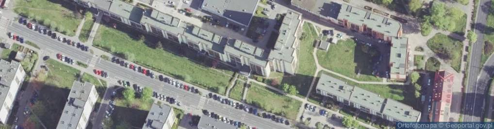 Zdjęcie satelitarne Armii Krajowej 6