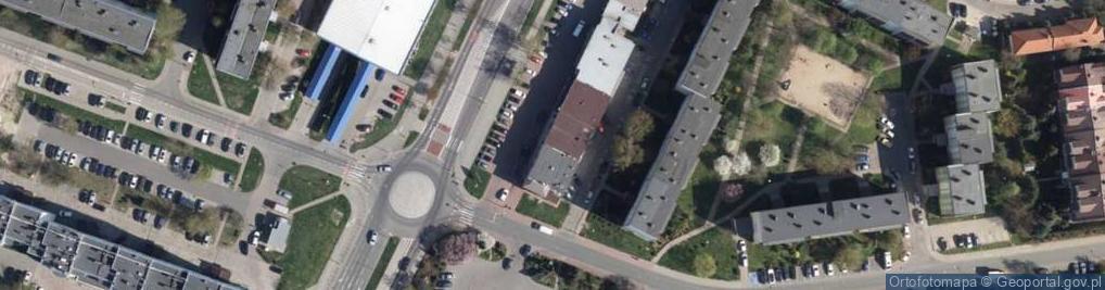 Zdjęcie satelitarne Armii Krajowej ul.
