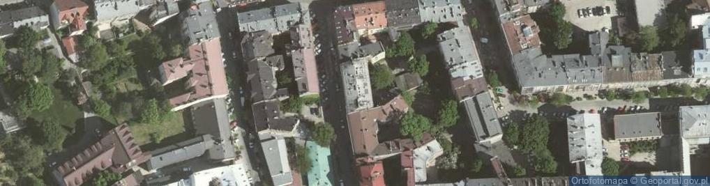 Zdjęcie satelitarne Asnyka Adama 5
