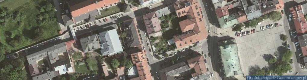 Zdjęcie satelitarne Augustiańska ul.