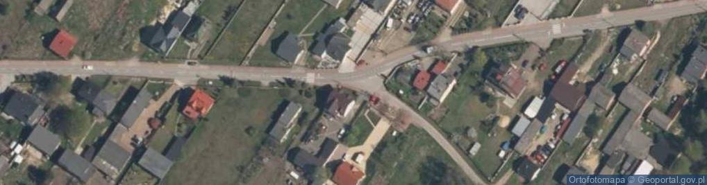 Zdjęcie satelitarne Babichy ul.