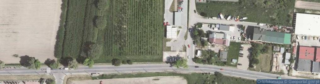 Zdjęcie satelitarne Balicka 127