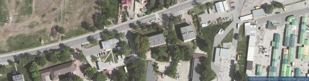 Zdjęcie satelitarne Balicka 84