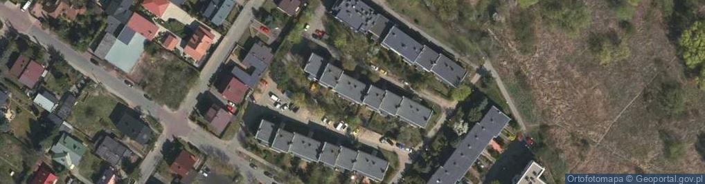 Zdjęcie satelitarne Baczyńskiego Krzysztofa Kamila 12