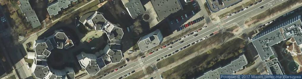 Zdjęcie satelitarne Belgradzka ul.