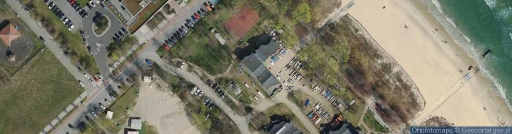 Zdjęcie satelitarne Bitwy Pod Płowcami ul.
