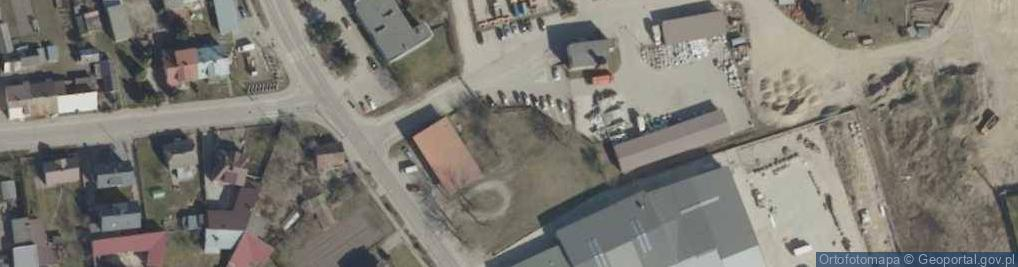 Zdjęcie satelitarne Białostocka ul.