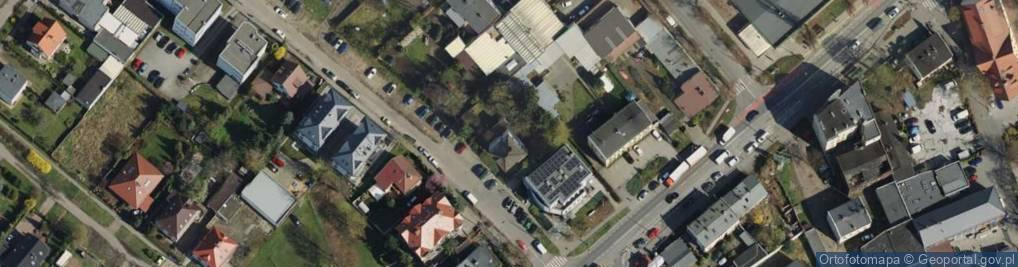 Zdjęcie satelitarne Blacharska ul.