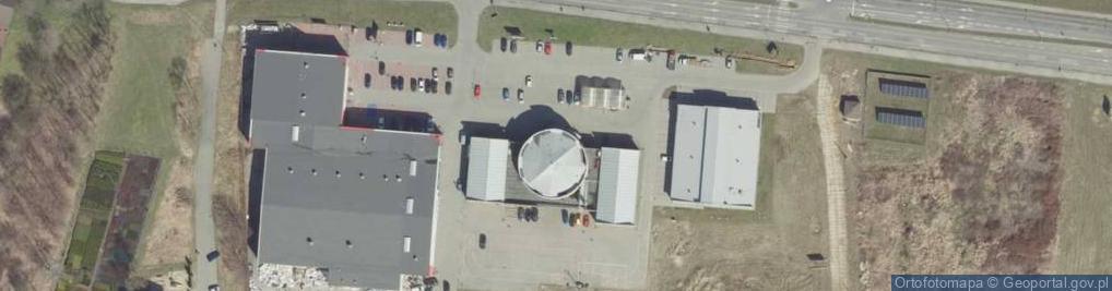 Zdjęcie satelitarne Błonie 5
