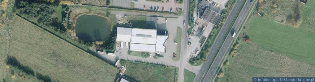 Zdjęcie satelitarne Bohaterów Katynia ul.