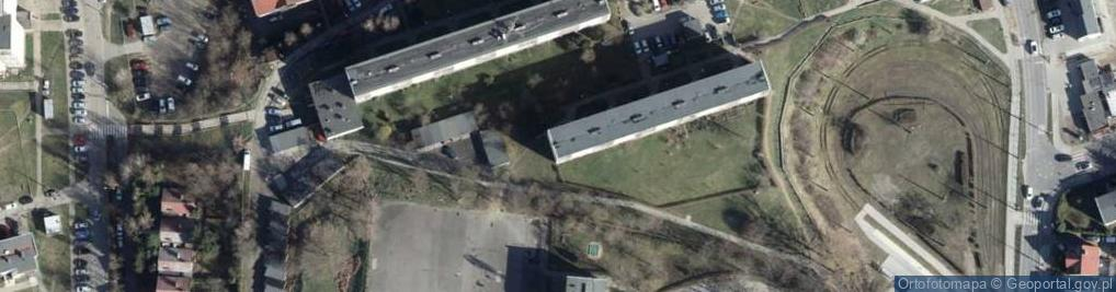 Zdjęcie satelitarne Boh. Westerplatte 17