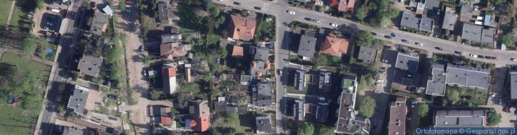 Zdjęcie satelitarne Borowiacka 13