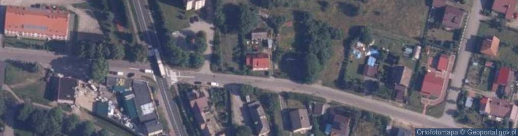 Zdjęcie satelitarne Brzeźnicka ul.