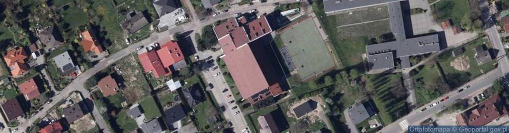 Zdjęcie satelitarne Bratków 16