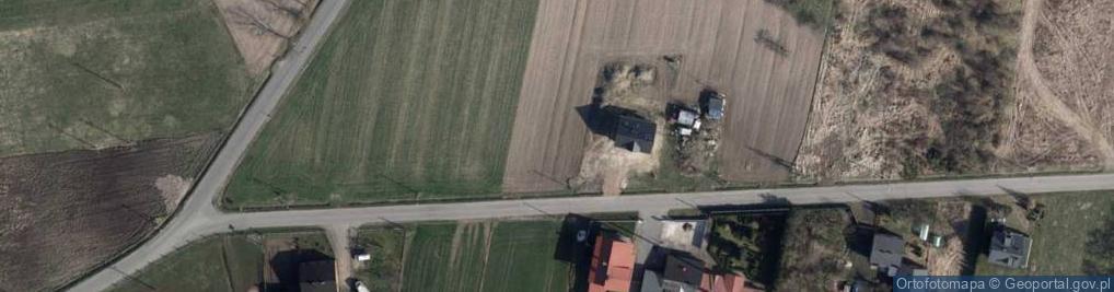 Zdjęcie satelitarne Bronisin Dworski 11