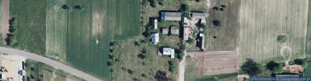 Zdjęcie satelitarne Brzeziny ul.