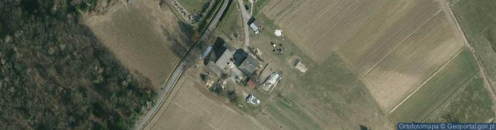 Zdjęcie satelitarne Brzeziny 1a
