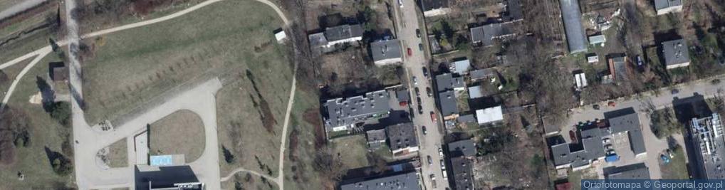 Zdjęcie satelitarne Brzeska 15