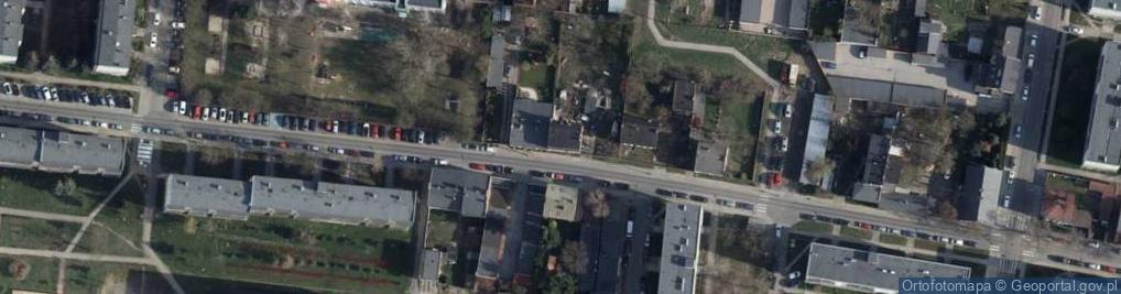 Zdjęcie satelitarne Bracka 30