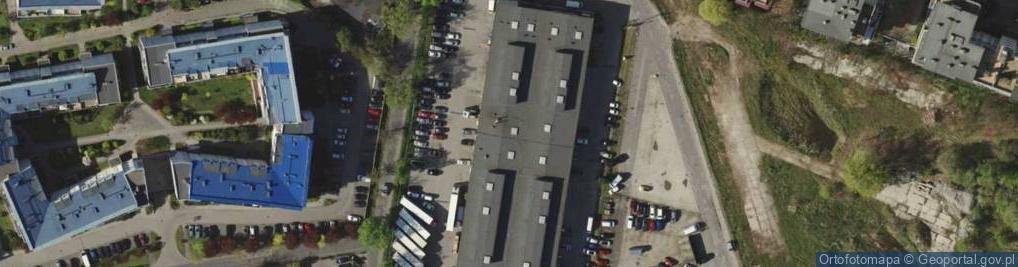 Zdjęcie satelitarne Braterska 6