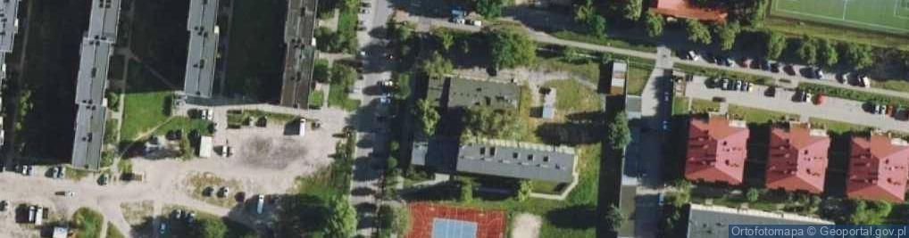 Zdjęcie satelitarne Budowlanych 14