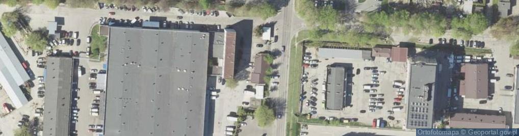Zdjęcie satelitarne Bursaki 6