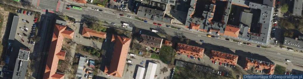 Zdjęcie satelitarne Bukowska ul.