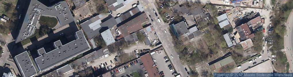 Zdjęcie satelitarne Burakowska ul.