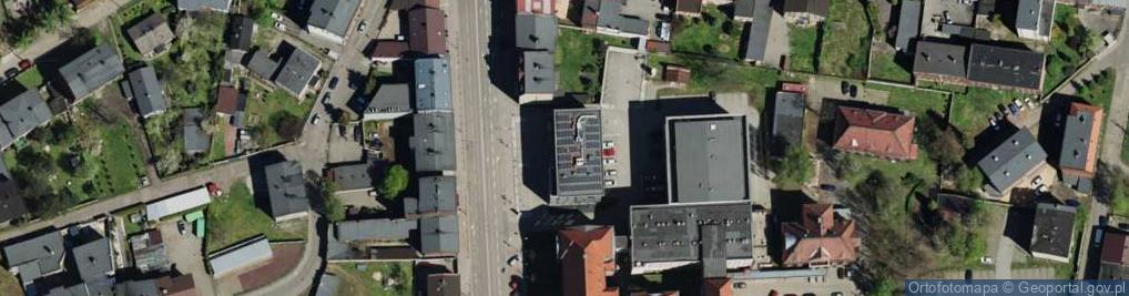 Zdjęcie satelitarne Bytomska 64