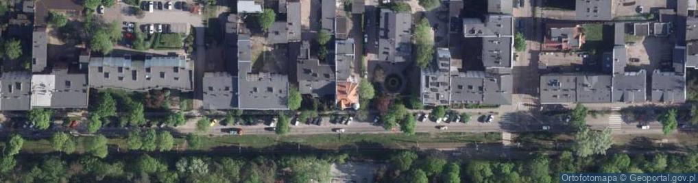 Zdjęcie satelitarne Bydgoska 78