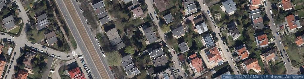 Zdjęcie satelitarne Bytomska 5A