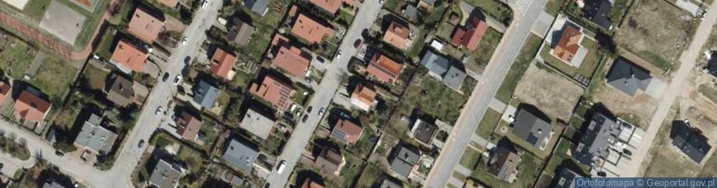 Zdjęcie satelitarne Calineczki ul.