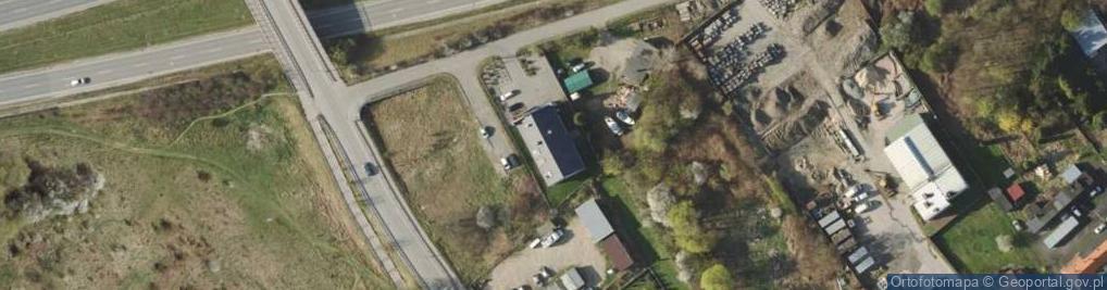 Zdjęcie satelitarne Cedrowa 48