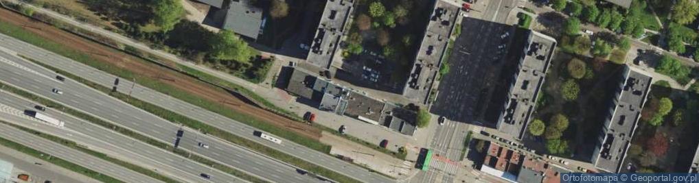 Zdjęcie satelitarne Chorzowska 11
