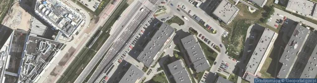 Zdjęcie satelitarne Chmieleniec 2b