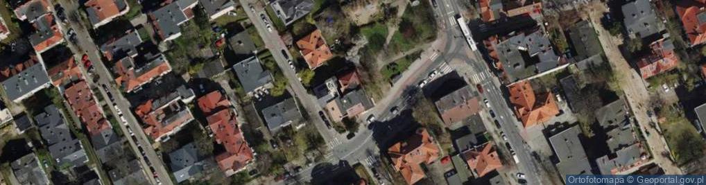 Zdjęcie satelitarne Chopina Fryderyka 43