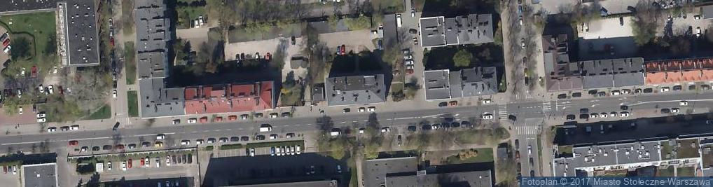 Zdjęcie satelitarne Chełmska 20