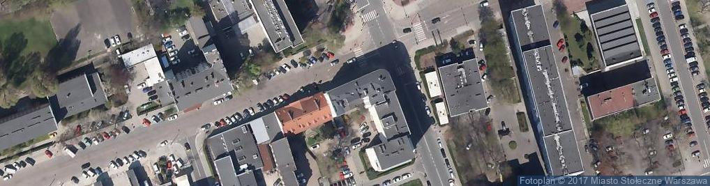Zdjęcie satelitarne Chłodna 25