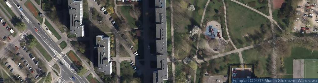 Zdjęcie satelitarne Conrada Józefa 10