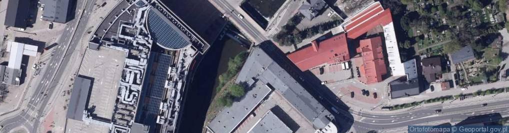 Zdjęcie satelitarne Cyniarska ul.