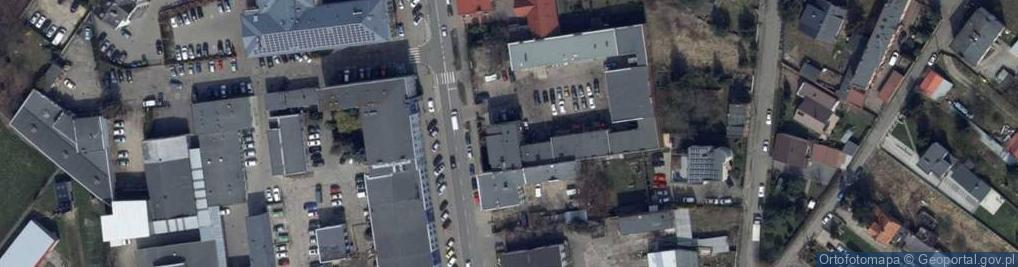 Zdjęcie satelitarne Częstochowska 12