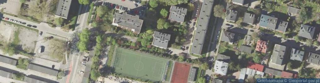 Zdjęcie satelitarne Czwartaków ul.