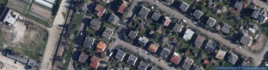 Zdjęcie satelitarne Czereśniowa 1