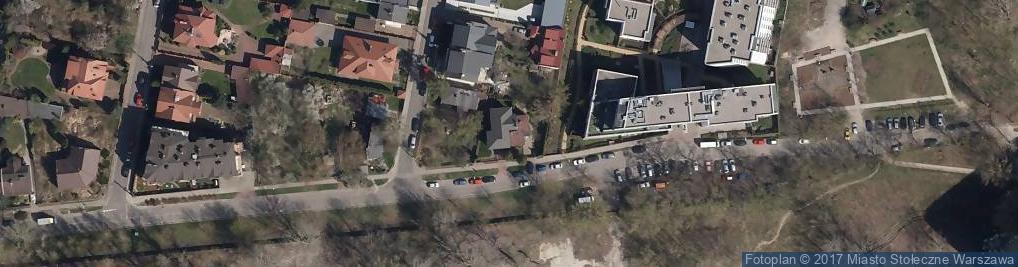 Zdjęcie satelitarne Człuchowska ul.